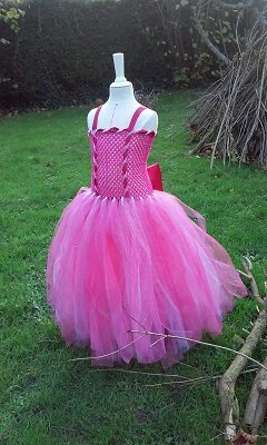 Robe rose noemie 1