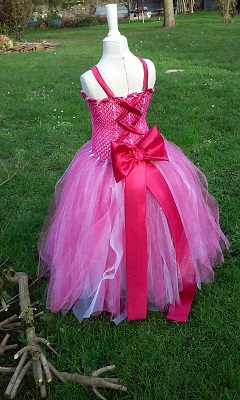 Robe rose noemie 2